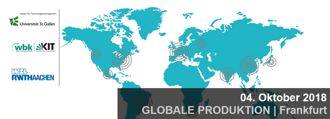 Expertenforum Globale Produktion 2018